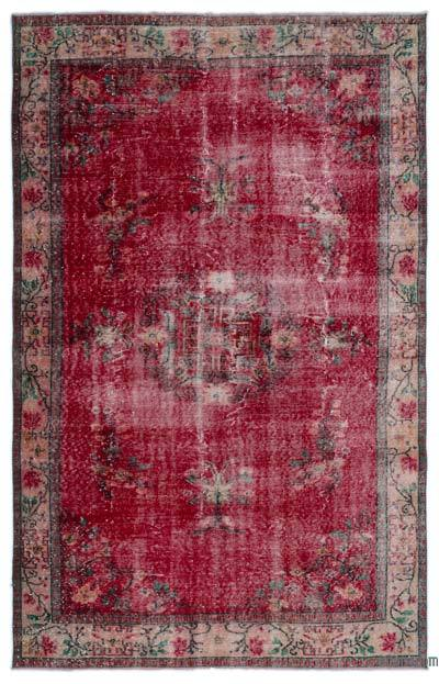 """Turkish Vintage Area Rug - 5'10"""" x 9'3"""" (70 in. x 111 in.)"""