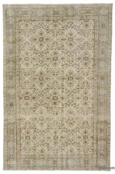 "Turkish Vintage Rug - 6'  x 9' 3"" (72 in. x 111 in.)"
