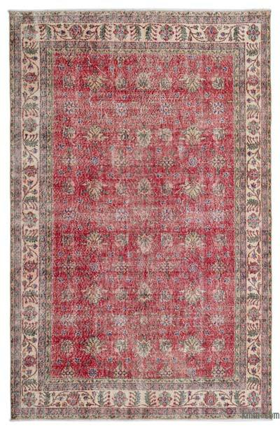 """Turkish Vintage Area Rug - 6' 5"""" x 9' 11"""" (77 in. x 119 in.)"""