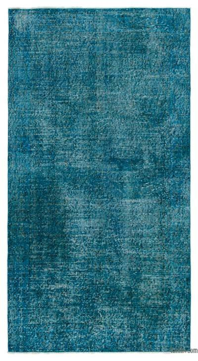 "Over-dyed Turkish Vintage Rug - 3' 9"" x 6' 10"" (45 in. x 82 in.)"