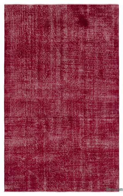 "Over-dyed Turkish Vintage Rug - 4' 9"" x 7' 10"" (57 in. x 94 in.)"
