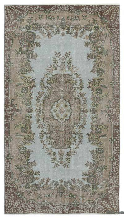 "Turkish Vintage Area Rug - 3'10"" x 6'11"" (46 in. x 83 in.)"