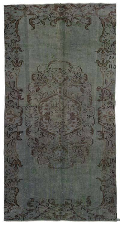 "Over-dyed Turkish Vintage Rug - 4'3"" x 8'2"" (51 in. x 98 in.)"