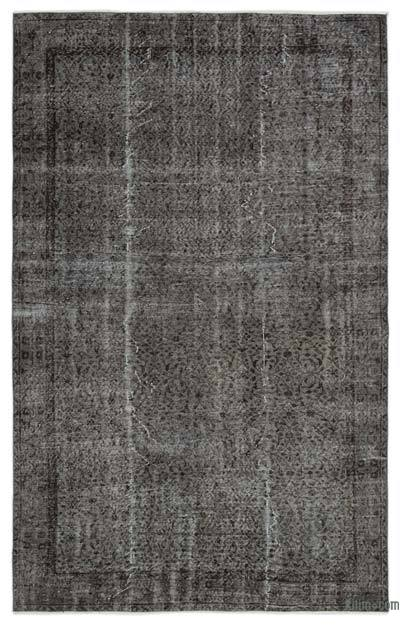 """Over-dyed Turkish Vintage Rug - 6' x 9'5"""" (72 in. x 113 in.)"""