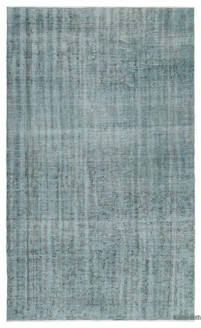 """Over-dyed Turkish Vintage Rug - 5'7"""" x 9'3"""" (67 in. x 111 in.)"""