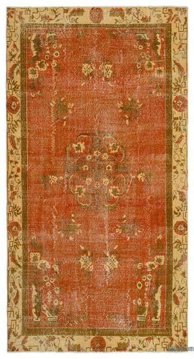 "Turkish Vintage Area Rug - 5' 7"" x 10' 7"" (67 in. x 127 in.)"