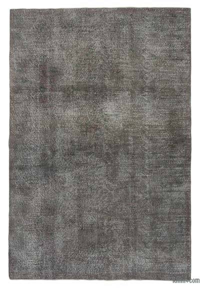 "Over-dyed Turkish Vintage Rug - 6'5"" x 9'9"" (77 in. x 117 in.)"