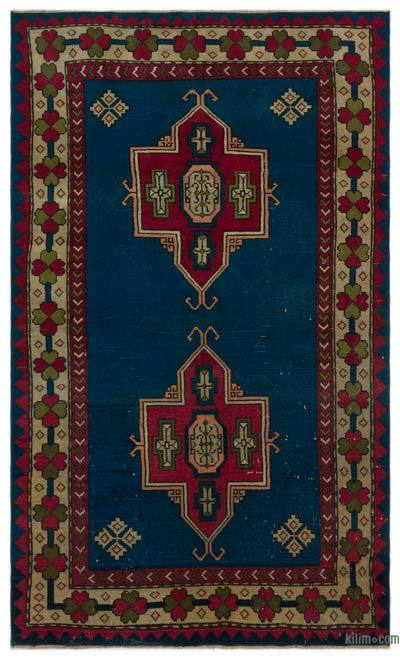 "Turkish Vintage Area Rug - 3'11"" x 6'11"" (47 in. x 83 in.)"