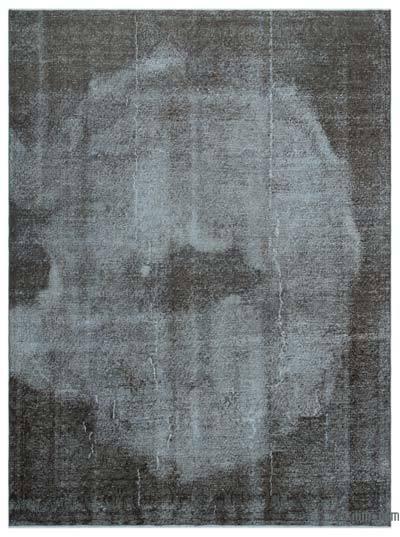 Alfombra Turca Vintage Sobre-teñida - 204 cm x 272 cm