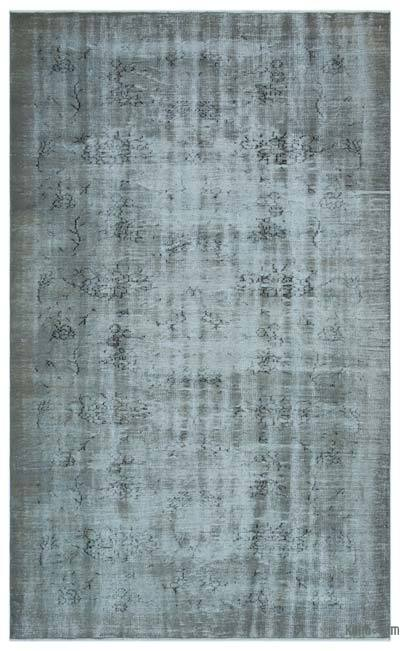"Over-dyed Turkish Vintage Rug - 6'  x 9' 10"" (72 in. x 118 in.)"