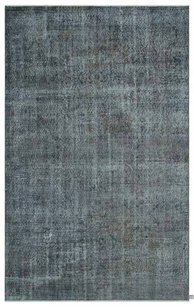 "Over-dyed Turkish Vintage Rug - 5'10"" x 9'1"" (70 in. x 109 in.)"