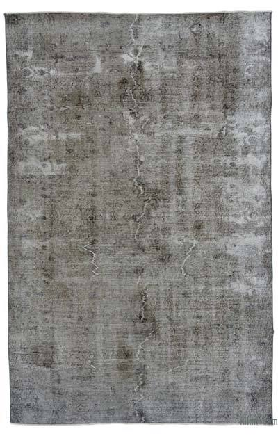 "Over-dyed Turkish Vintage Rug - 5' 7"" x 8' 8"" (67 in. x 104 in.)"