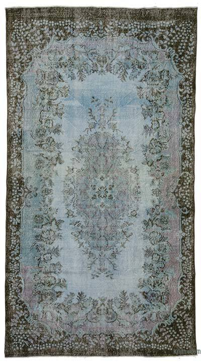 "Over-dyed Turkish Vintage Rug - 6'  x 11' 1"" (72 in. x 133 in.)"