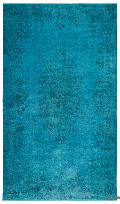 "Over-dyed Turkish Vintage Rug - 5' 7"" x 9' 5"" (67 in. x 113 in.)"