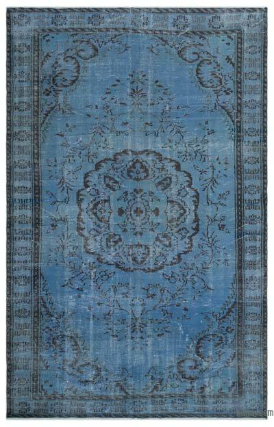 """Over-dyed Turkish Vintage Rug - 6'  x 9' 5"""" (72 in. x 113 in.)"""
