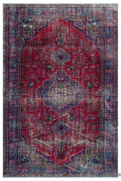 """Turkish Vintage Area Rug - 5'9"""" x 8'4"""" (69 in. x 100 in.)"""