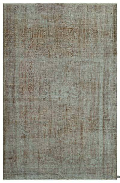 "Over-dyed Turkish Vintage Rug - 6'  x 9' 3"" (72 in. x 111 in.)"