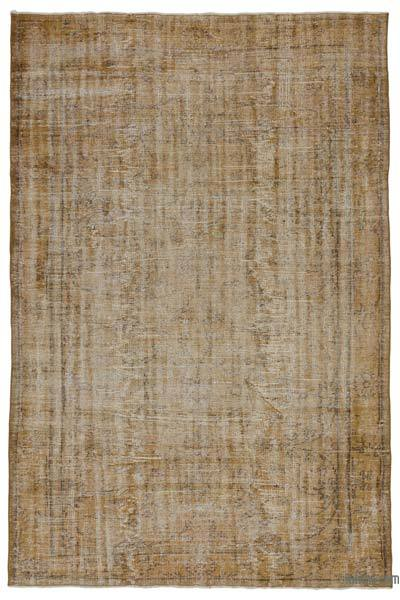"Over-dyed Turkish Vintage Rug - 5' 10"" x 8' 8"" (70 in. x 104 in.)"