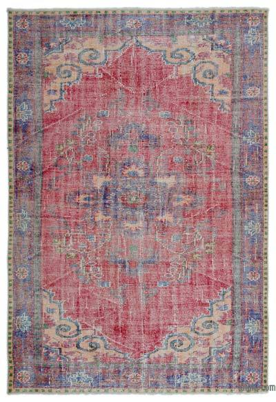 "Turkish Vintage Area Rug - 5' 3"" x 7' 10"" (63 in. x 94 in.)"