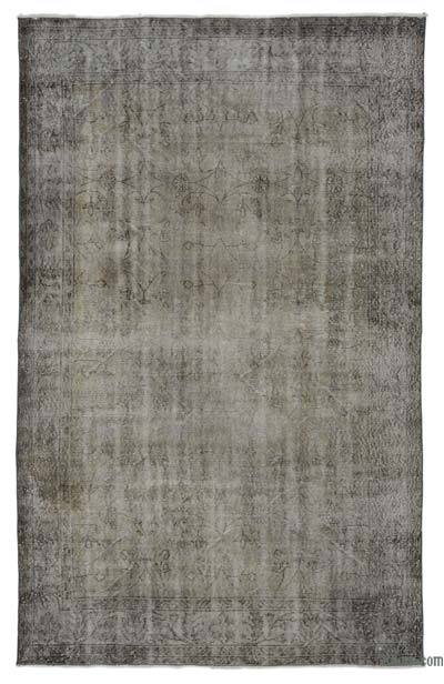 "Over-dyed Turkish Vintage Rug - 5' 7"" x 8' 10"" (67 in. x 106 in.)"