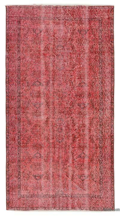 "Over-dyed Turkish Vintage Rug - 3' 8"" x 7' 1"" (44 in. x 85 in.)"