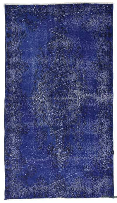 "Over-dyed Turkish Vintage Rug - 3' 8"" x 6' 9"" (44 in. x 81 in.)"