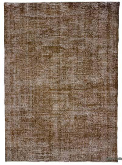 Boyalı El Dokuma Vintage Halı - 208 cm x 290 cm