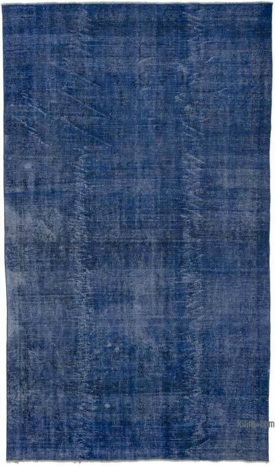 """Over-dyed Turkish Vintage Rug - 5'7"""" x 9'7"""" (67 in. x 115 in.)"""