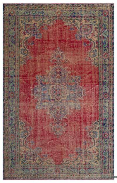 "Turkish Vintage Area Rug - 6'2"" x 9'8"" (74 in. x 116 in.)"
