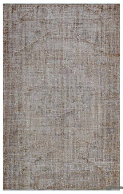 "Over-dyed Turkish Vintage Rug - 5'3"" x 8'3"" (63 in. x 99 in.)"