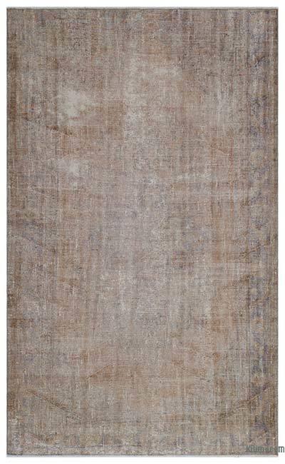 Alfombra Turca Vintage Sobre-teñida - 170 cm x 275 cm