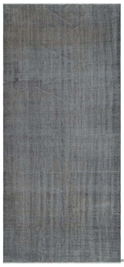 "Over-dyed Turkish Vintage Rug - 4'9"" x 10'3"" (57 in. x 123 in.)"