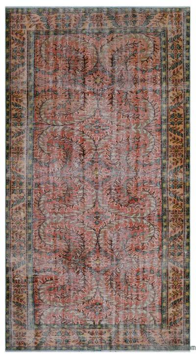 """Turkish Vintage Area Rug - 5'  x 9' 2"""" (60 in. x 110 in.)"""
