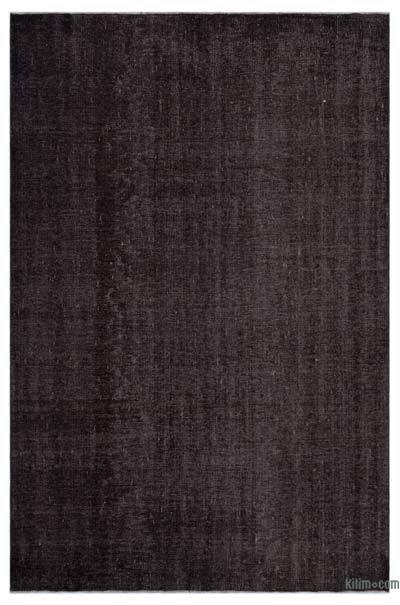 Boyalı El Dokuma Vintage Halı - 178 cm x 275 cm