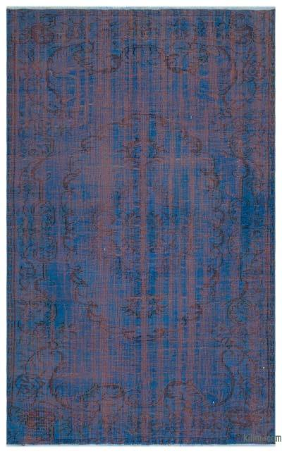 "Over-dyed Turkish Vintage Rug - 4'11"" x 7'10"" (59 in. x 94 in.)"