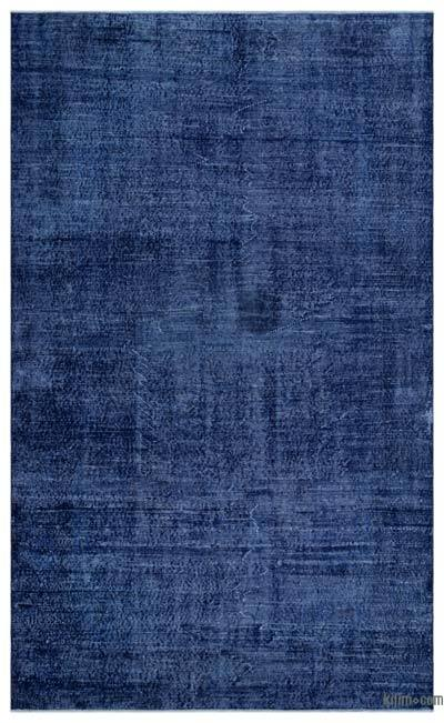"""Over-dyed Turkish Vintage Rug - 5'11"""" x 9'11"""" (71 in. x 119 in.)"""