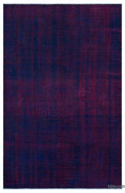 Alfombra Turca Vintage Sobre-teñida - 180 cm x 270 cm