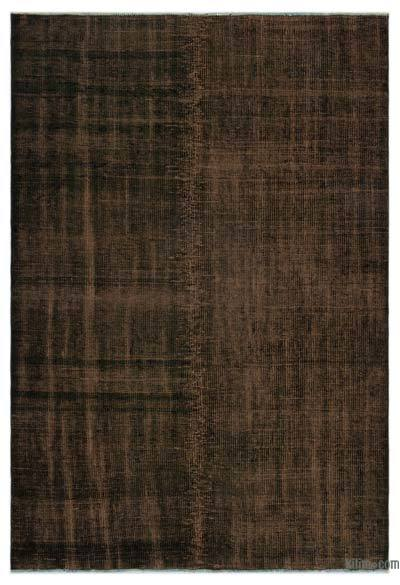 """Over-dyed Turkish Vintage Rug - 5'3"""" x 7'8"""" (63 in. x 92 in.)"""