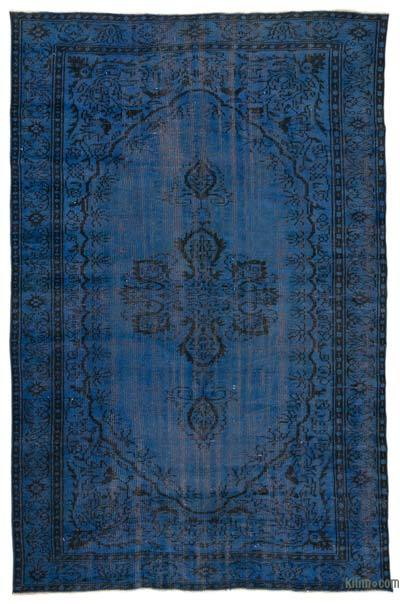 "Over-dyed Turkish Vintage Rug - 6'3"" x 9'3"" (75 in. x 111 in.)"