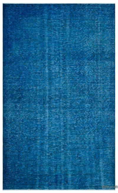 Boyalı El Dokuma Vintage Halı - 180 cm x 297 cm