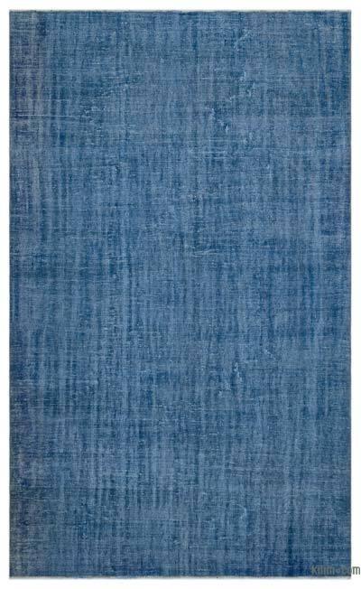 Boyalı El Dokuma Vintage Halı - 195 cm x 321 cm