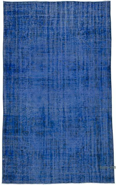 "Over-dyed Turkish Vintage Rug - 5'7"" x 9'7"" (67 in. x 115 in.)"