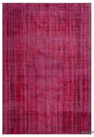 "Over-dyed Turkish Vintage Rug - 5'10"" x 8'4"" (70 in. x 100 in.)"