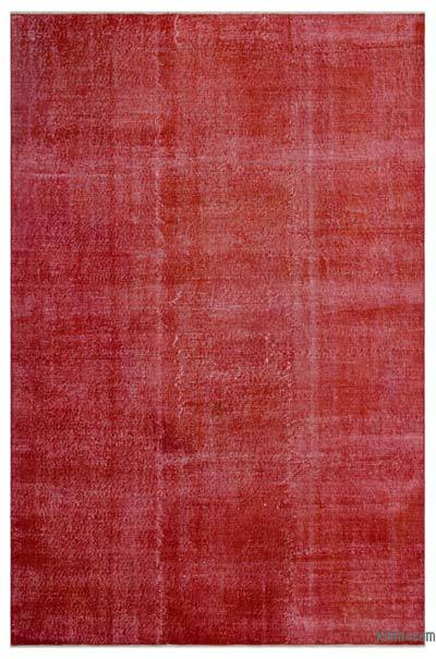 "Over-dyed Turkish Vintage Rug - 6' 7"" x 9' 11"" (79 in. x 119 in.)"