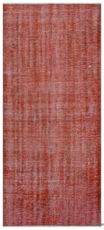 "Over-dyed Turkish Vintage Rug - 3'6"" x 6'10"" (42 in. x 82 in.)"