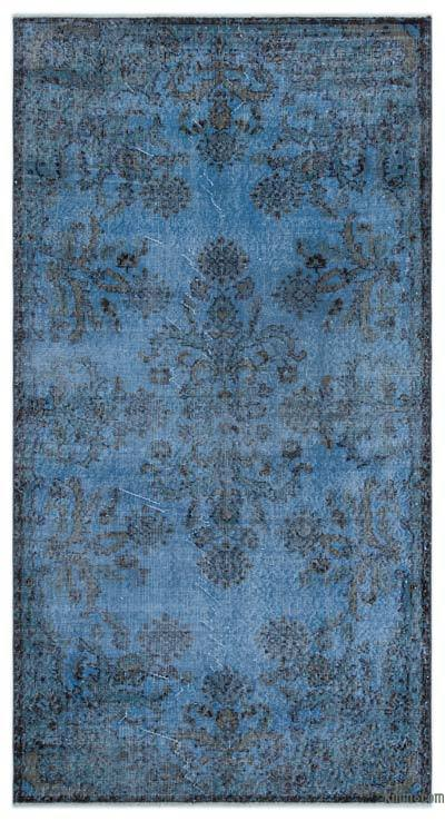 "Over-dyed Turkish Vintage Rug - 3'8"" x 6'11"" (44 in. x 83 in.)"