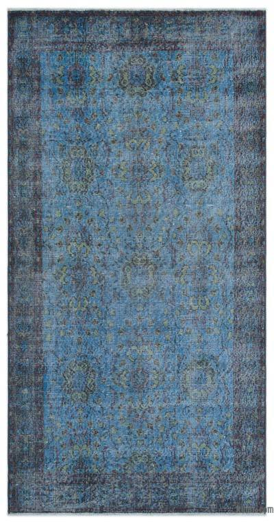 "Over-dyed Turkish Vintage Rug - 3'6"" x 6'11"" (42 in. x 83 in.)"