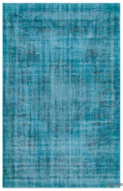 "Over-dyed Turkish Vintage Rug - 5'5"" x 8'5"" (65 in. x 101 in.)"