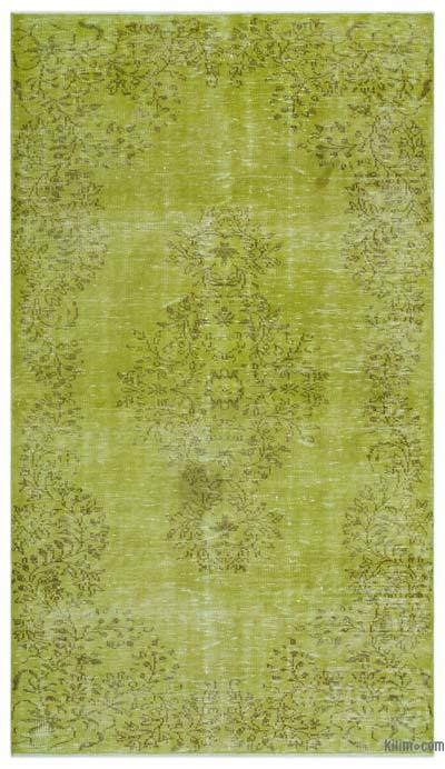 "Over-dyed Turkish Vintage Rug - 5'1"" x 9' (61 in. x 108 in.)"