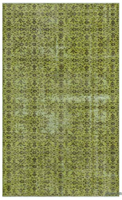 "Over-dyed Turkish Vintage Rug - 5'  x 8' 3"" (60 in. x 99 in.)"